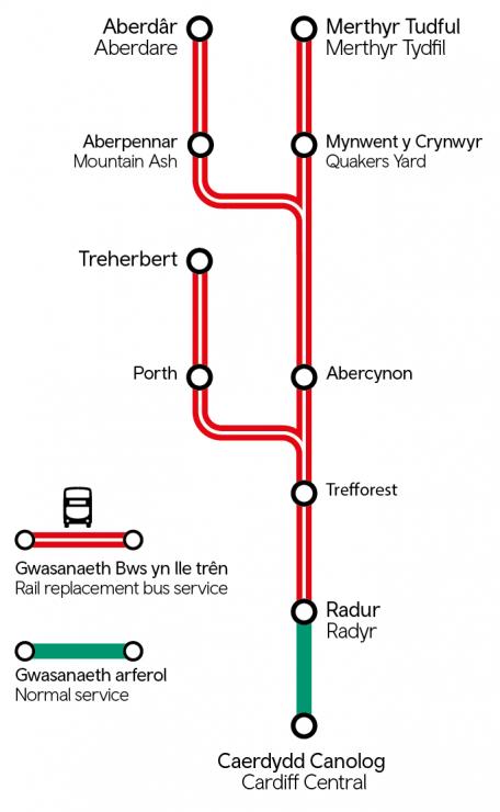 Metro transformation works